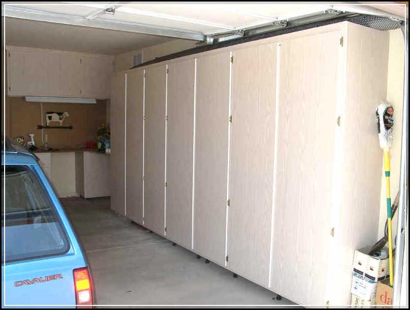 Creating DIY Space Saving Garage Cabinet Plans  Home
