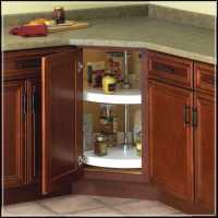 Lazy Susan Cabinet Effectively Completing the Storage ...