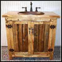 Let's Decorate Rustic Bathroom Vanity Beautifully - Home ...