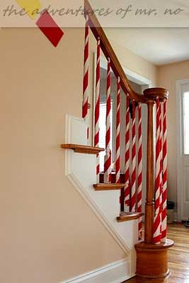 35 Irresistible Ideas To Decorate Your Stairs in The Spirit Of Christmas  HomeDesignInspired