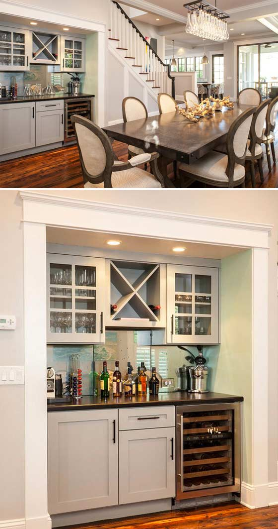 24 Places To Which You Can Build A Home Coffee Station HomeDesignInspired