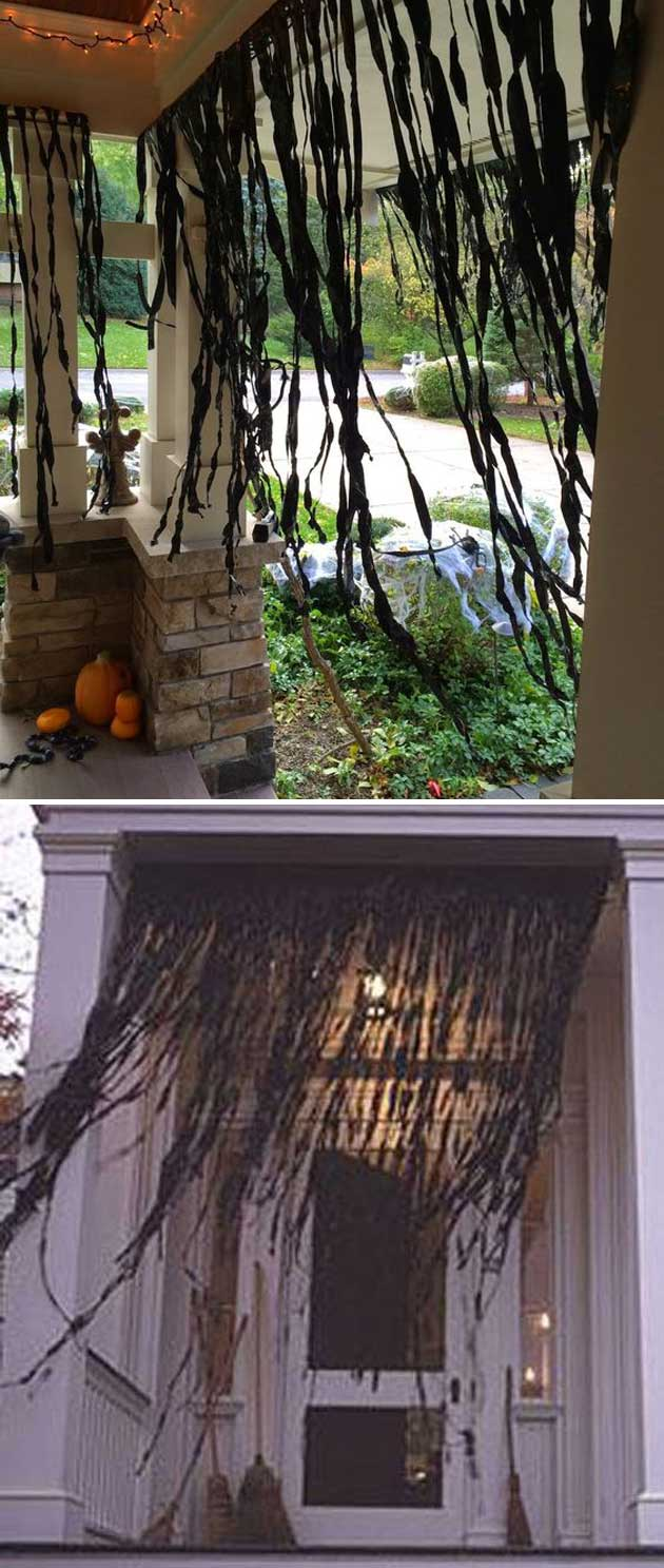 Top 20 Ideas Turn Trash Bags Into Creepy Halloween Decorations  HomeDesignInspired