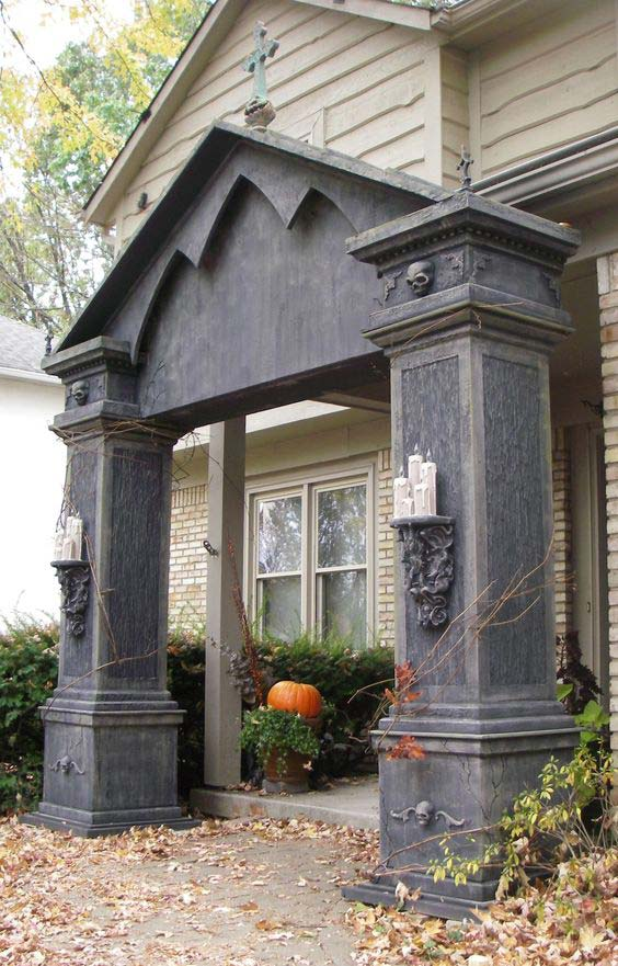 The Most 20 Coolest Halloween Entrance Ideas You Should