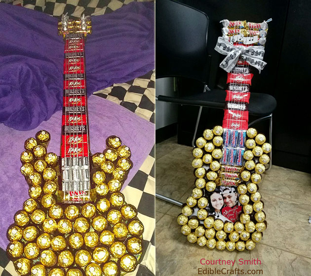 Candy Guitar gift