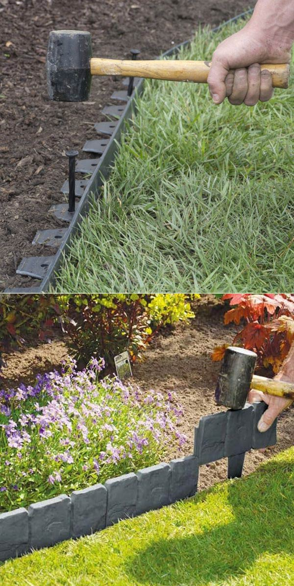 create awesome garden edging