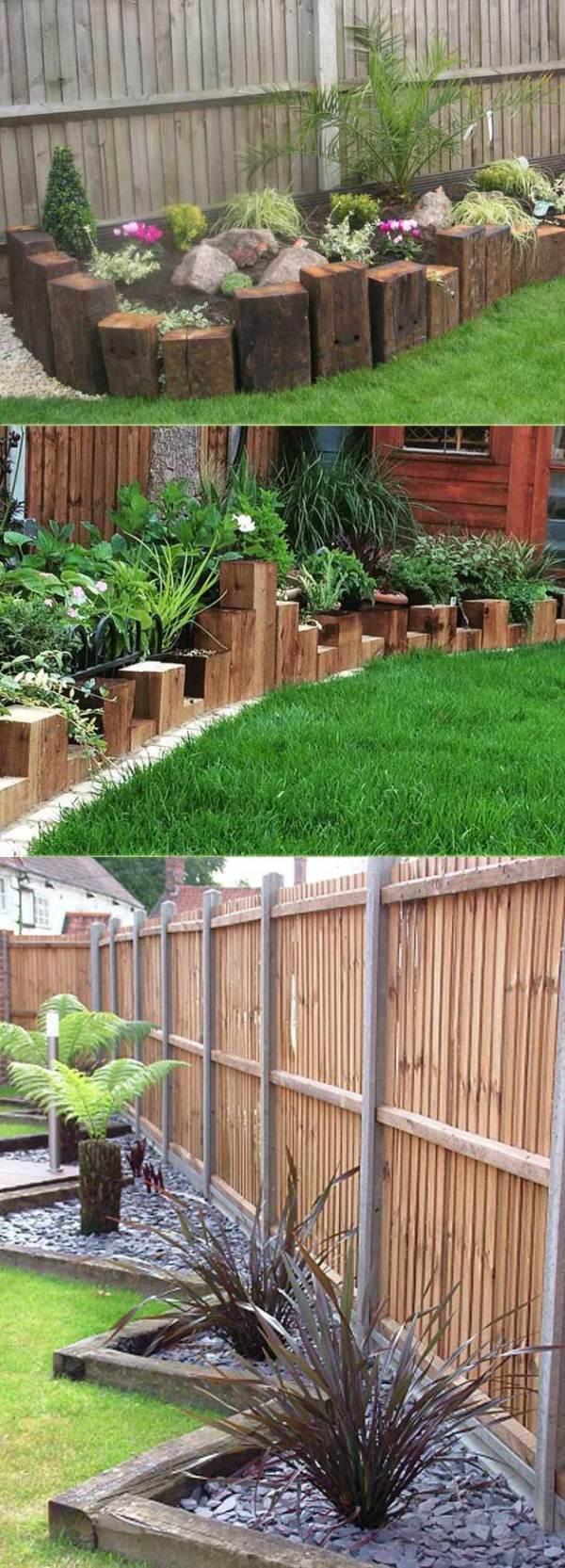 create awesome garden edging
