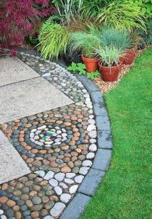 ways decorating patio and garden