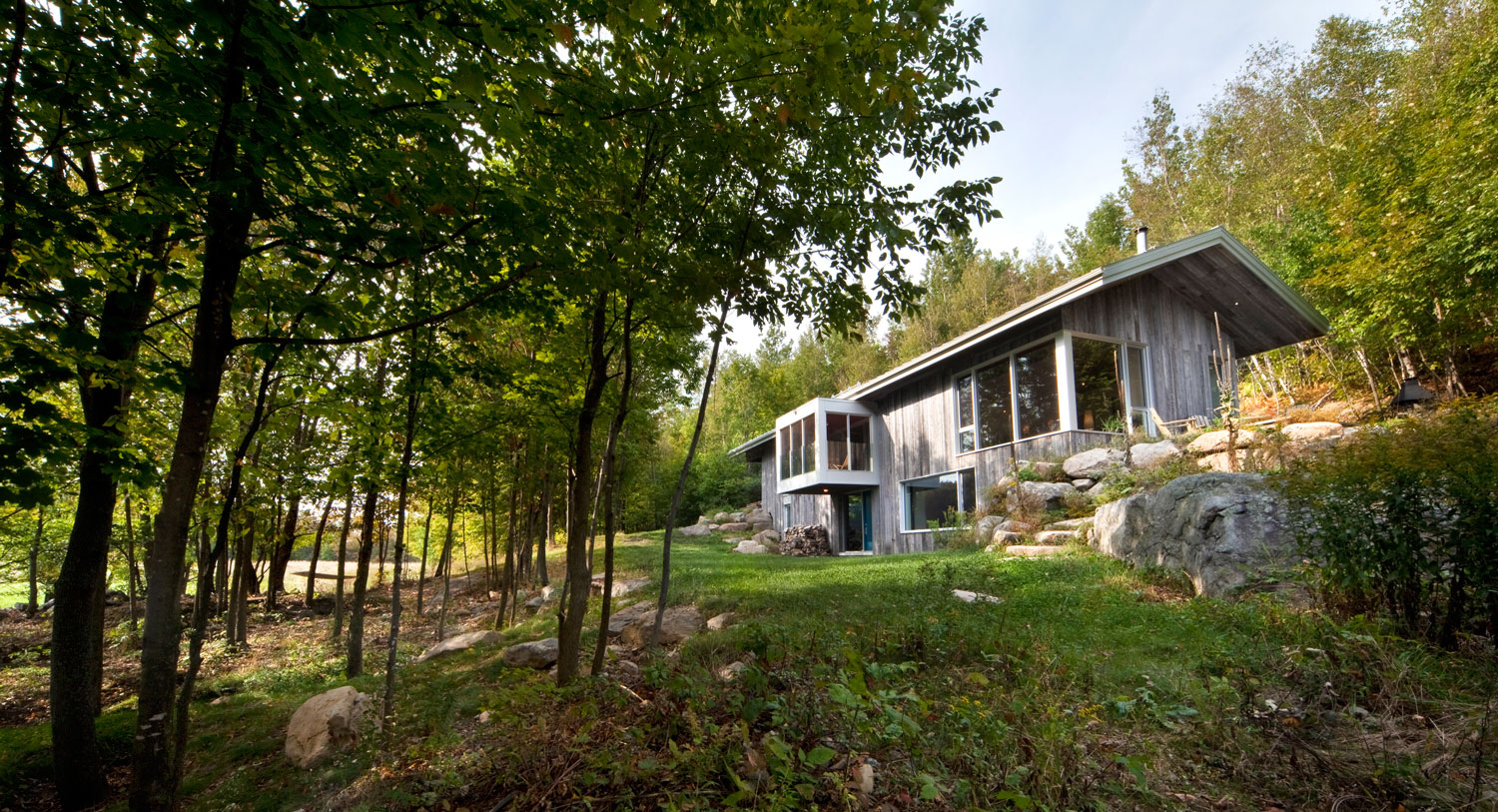 Bromont Residence by Blouin Tardif Architecture