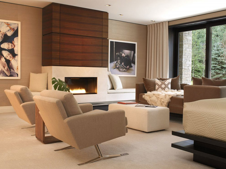 Aspen Art House by Stonefox Design  Homedezen