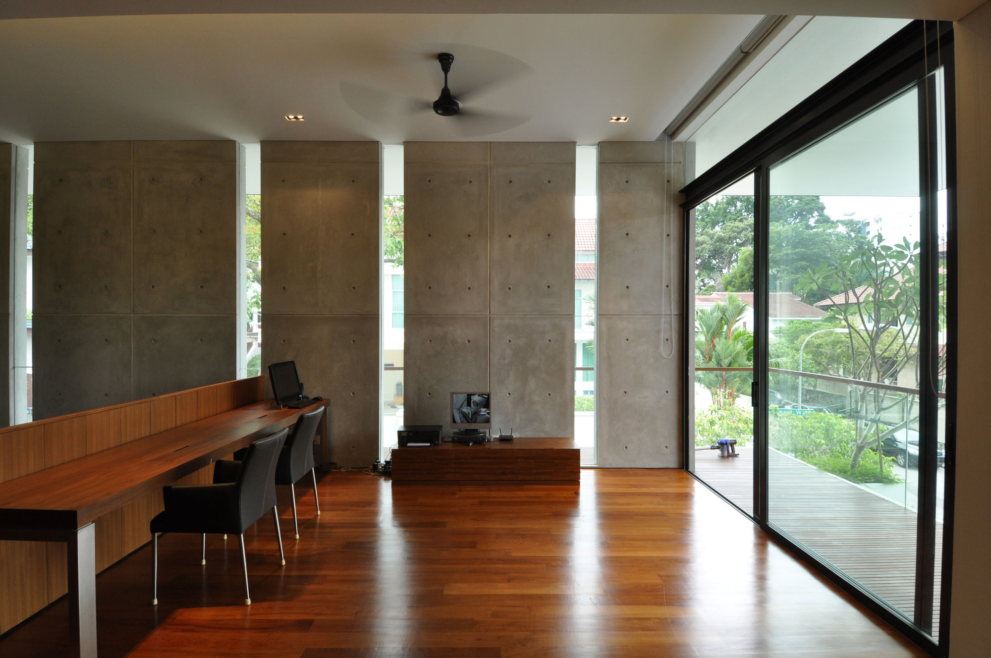 Sunset Terrace House by a_collective  Homedezen