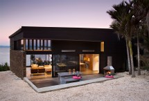 New Zealand Beach House Architecture