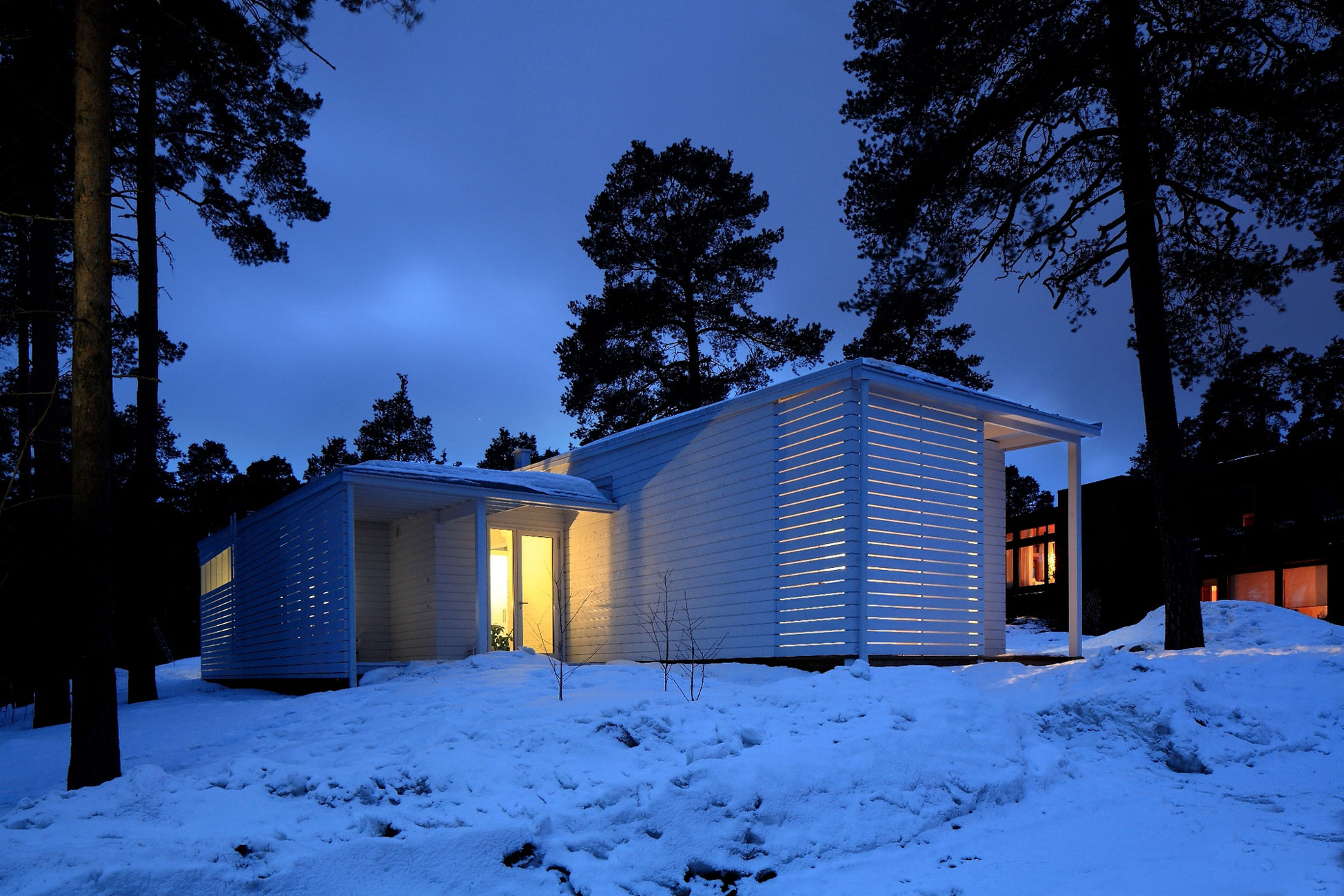 Wooden Family House in Finland  Homedezen