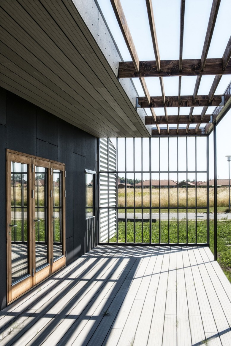 Prefabricated Shipping Container in Denmark Upcycle House