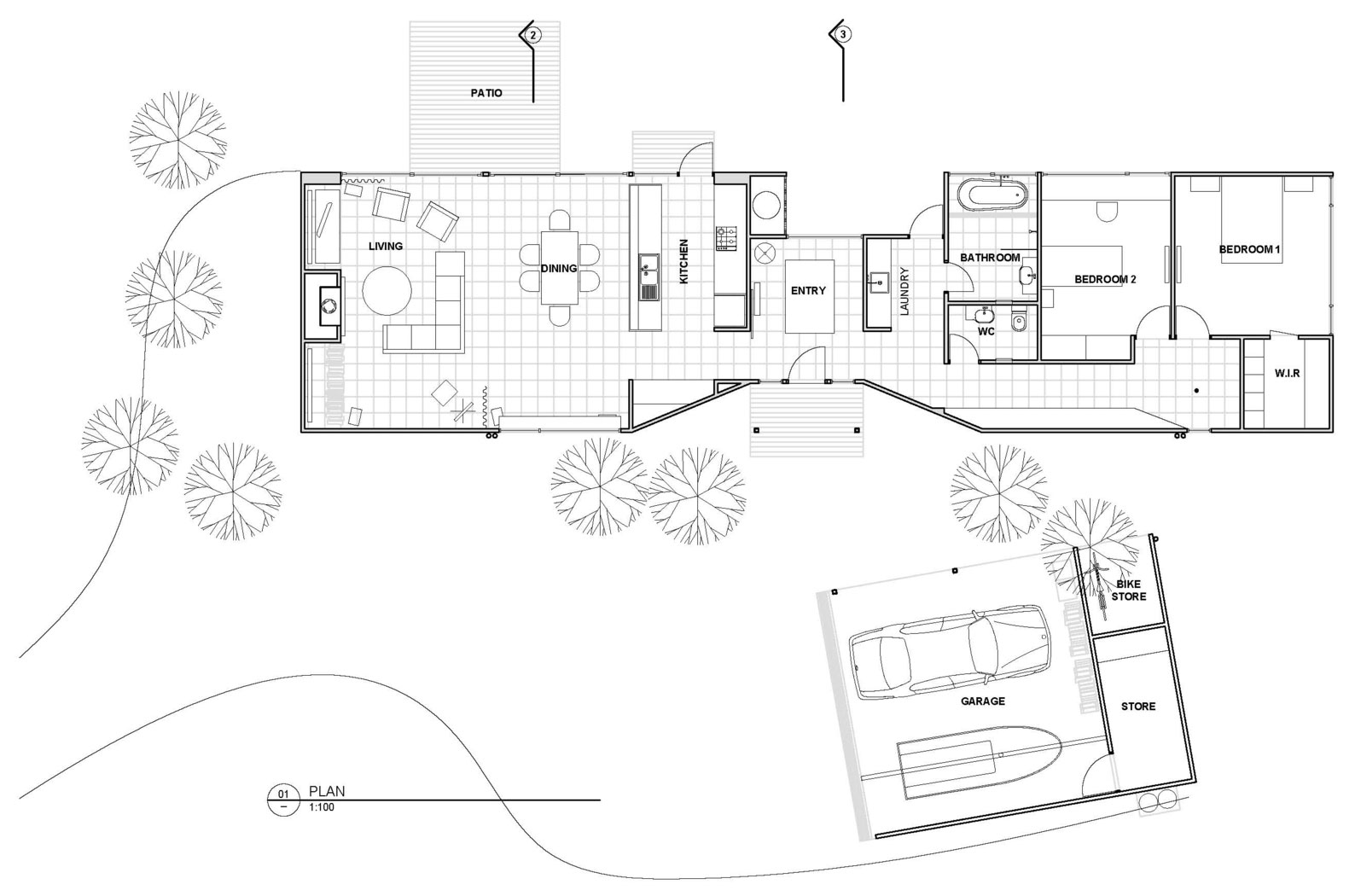 Energy Efficient House By Cooper Scaife Architects