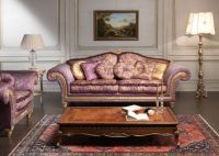 Imperial Sofa and Armchairs by Vimercati Meda