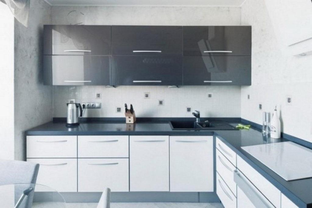 L Type Modular Kitchen Design