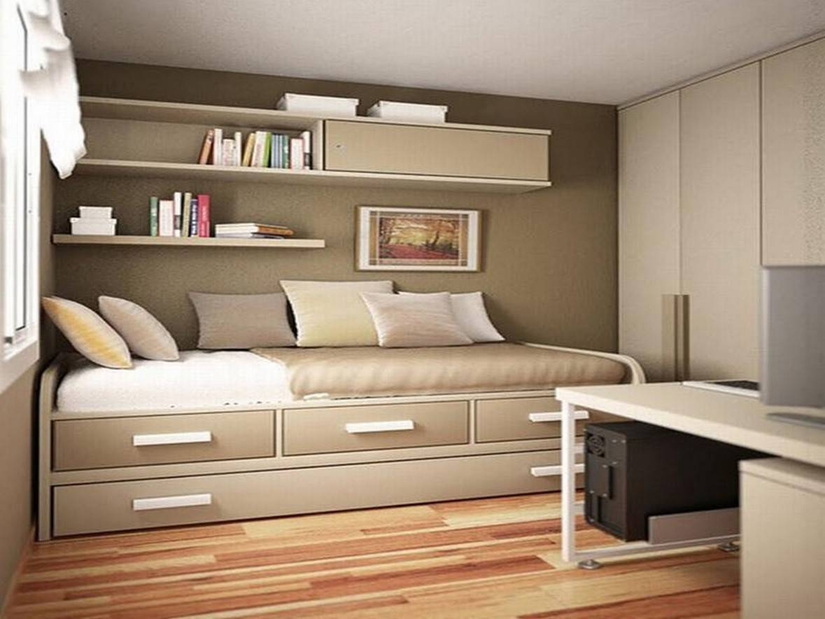 25 Tips For Designing SmallSized Bedrooms Got Bigger With