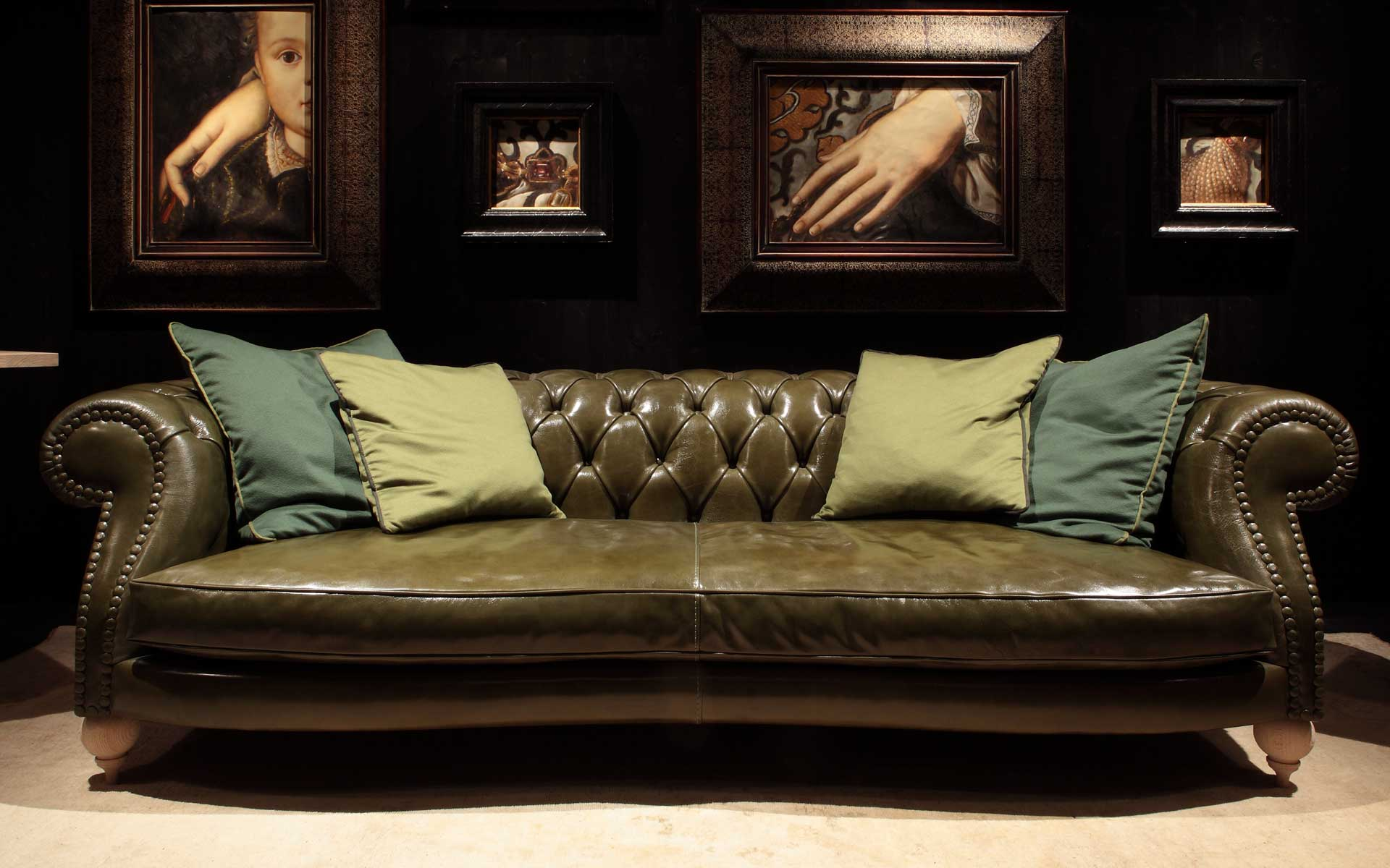 olive green sofa living room ideas leather sleeper ikea baxter from italy brings fine sofas home | interior design ...