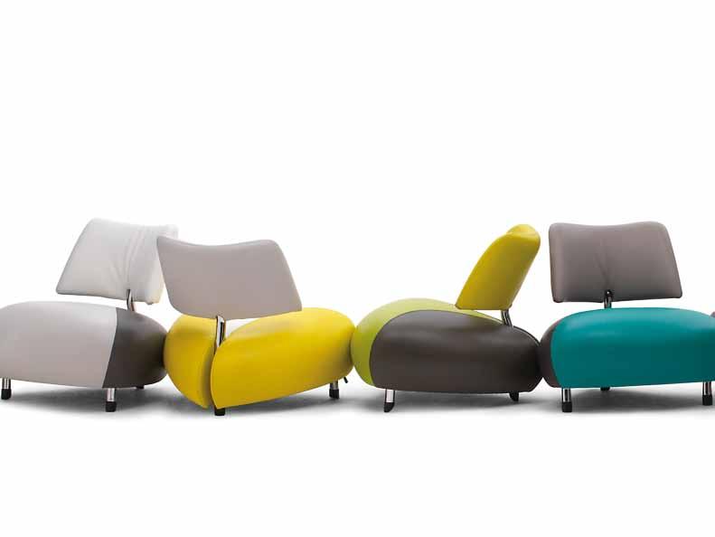 Leolux Furniture for Organic Design Interiors