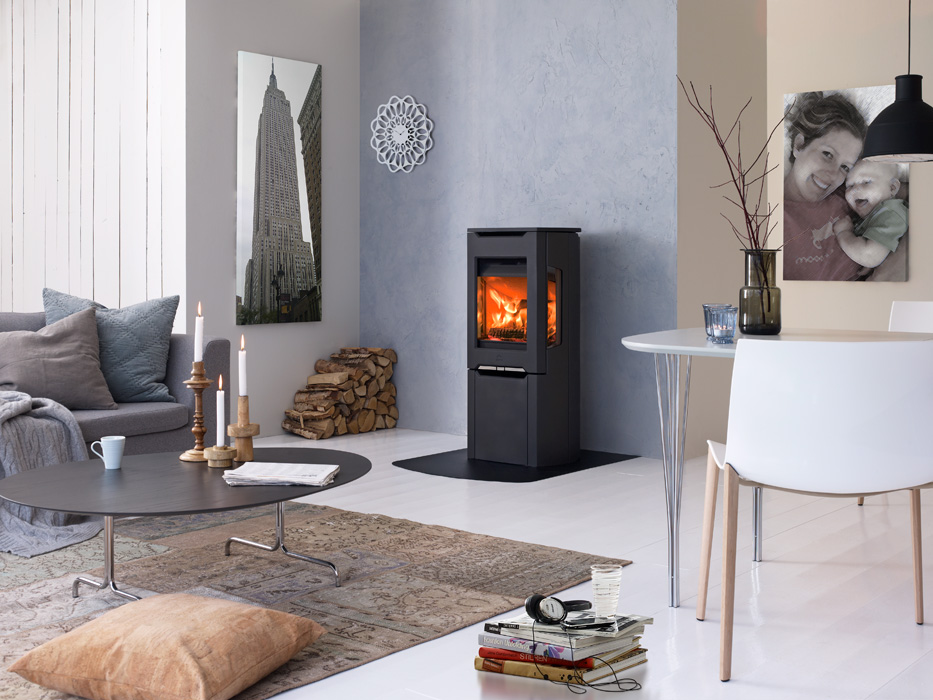 Functional And Stylish Fireplaces From Jotul Interior