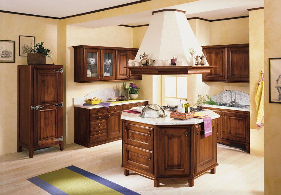 ARREX LE CUCINES unique range of wooden kitchen ideas