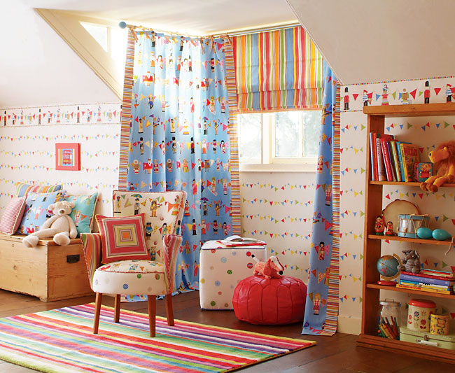 Childrens Room Curtain Ideas  Kids Rooms Curtains