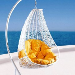 Egg Shaped Swing Chair Portable Hammock With Stand Relax In Style Comfortable Egg-shaped Rattan Outdoor Euro | Modern Home Decor