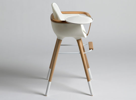 high chair wooden legs wedding covers hire surrey sit your baby in a stylish and elegant ovo by culdesac the is sleek designed for micuna known children s furniture brand made of polypropylene has smooth