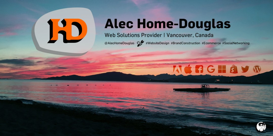 Alec Home-Douglas: Web Solutions Provider, Vancouver, Canada