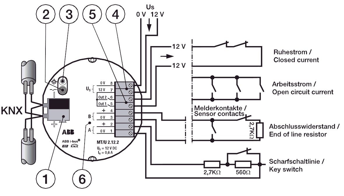 ABB Jalousie-/Rollladenaktor JRA/S 2.230.1.1