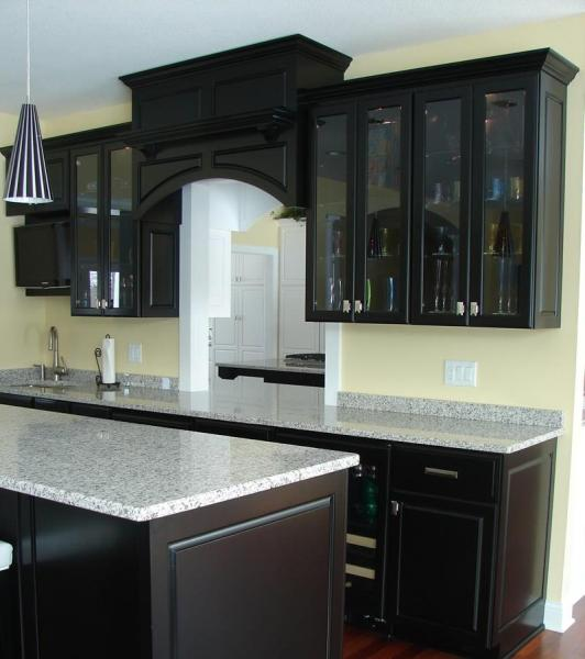 beautiful black kitchen cabinets 23 Beautiful Kitchen Designs With Black Cabinets - Page 3 of 5