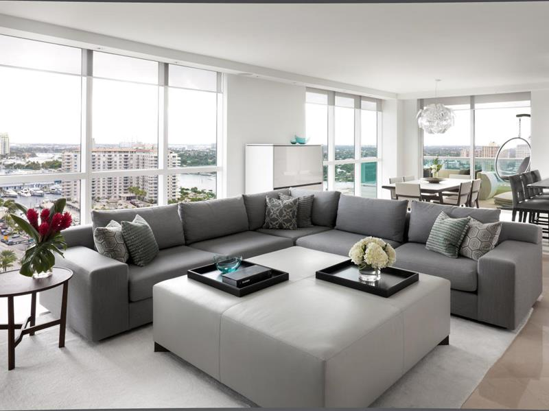 Turn your living room into a lovely space that's relaxing yet functional by selecting the right lighting. 24 Large Open-Concept Living Room Designs