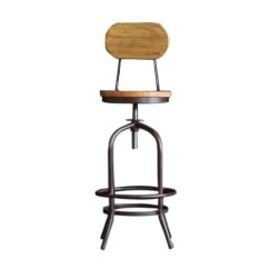 Stool Chair Hong Kong Rocking With Cushions India Rustic Bar Wooden Wood Drink Club Dinning Kitchen Home Essentials