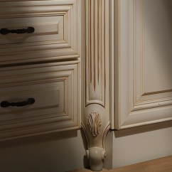 Narrow Kitchen Base Cabinet Oak Cabinets Trim, Panels And Molding | Home Expressions By ...