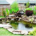 Backyard with small pond pictures 02 homeexteriorinterior com