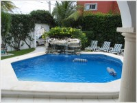 Swimming Pool Decoration Ideas - Fountains ...