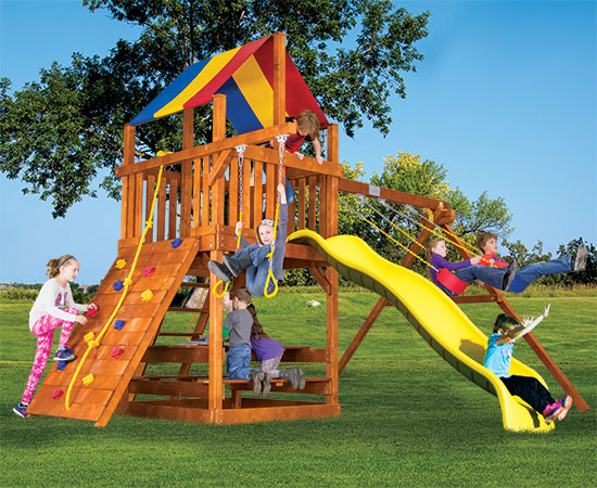 Outdoor Small Playsets Plastic