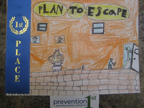 Poster Exhibit2013 Home Fire Drill Prevention 1st