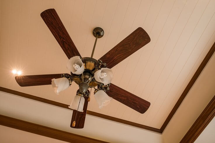 Install or replace ceiling fans homefix handyman how to install and replace a ceiling fan mozeypictures Image collections