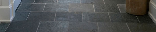 natural stone tile floor