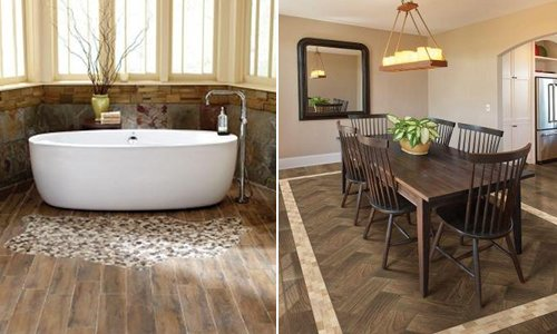 Image Result For How To Lay Porcelain Tile In A Bathroom Floor