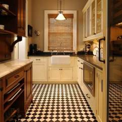 Floor Tile For Kitchen Wall Designs 36 Ideas And Inspiration June 2017 Small Checkerboard Tiles Are A Good Choice In Traditional Design
