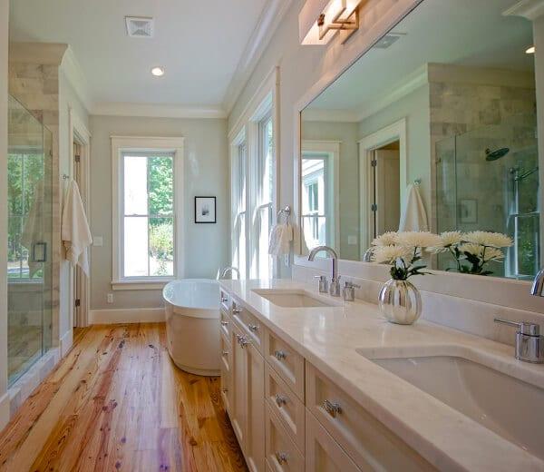 30 bathroom flooring ideas