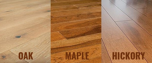 Oak Flooring Vs Maple And Hickory Flooring