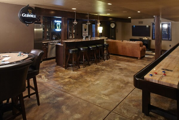 Basement Flooring Ideas 30 Best Options Amp Designs For