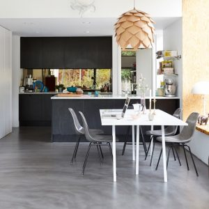 kitchen floors how to build outdoor concrete pros cons ideas costs installation image courtesy of pinterest