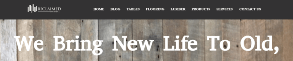 Reclaimed Wood, Inc.