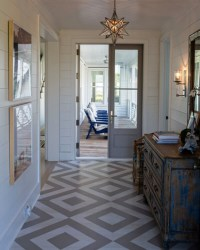 Painted Floors & Steps: 22 Top Design Ideas Using Colors