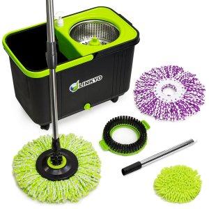 linkyo-spin-mop-bucket-system
