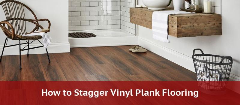 how to stagger vinyl plank flooring